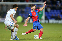 Oliver Norburn of Tranmere Rovers and Charlee Adams of Dagenham during Tranmere Rovers vs Dagenham & Redbridge, Vanarama National League Football at Prenton Park on 11th November 2017