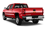 Car pictures of rear three quarter view of a 2015 Chevrolet Silverado 2500 4 Door Van angular rear
