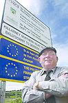 South Kerry TD Jackie Healy-Rae is well pleased with himself as he admires the new Northern relief road outside Killarney which he claims he instigated..Picture by Don MacMonagle 087-2563610 Jackie Healy-Rae, TD from the book by Don MacMonagle entitled 'Jackie - Keeping Up Appearances' published in 2002.