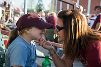 Left Field Lounge during the MSU vs. Kentucky baseball game on Super Bulldog Weekend 2017. <br />  (photo by Sarah Dutton / &copy; Mississippi State University)