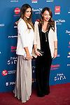 Daniela Ospina and Ana Antic attends to the photocall of the Gala Sida at Palacio de Cibeles in Madrid. November 21, 2016. (ALTERPHOTOS/Borja B.Hojas)