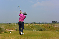Paul O'Hanlon (Carton House) on the 16th tee during Round 3 of the East of Ireland Amateur Open Championship sponsored by City North Hotel at Co. Louth Golf club in Baltray on Monday 6th June 2016.<br /> Photo by: Golffile   Thos Caffrey