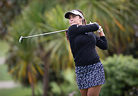 Voctoria Fricot, during her first round on Sunday at the NZPWG Women's Pro-Am in Memory of Anita Boon, played at the Remuera Golf Course.