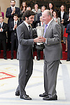 King Juan Carlos Award to the male or female athlete for the results obtained during the course year the most significant revelation of the sports landscape, Carlos Sainz Jr. November 17, 2015.(ALTERPHOTOS/Acero)