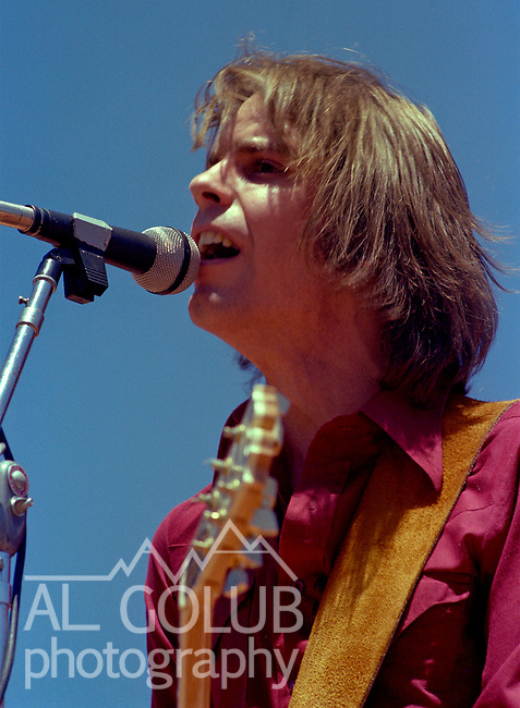 Second annual Mountain Aire Renaissance Fair and Musical festival produced by Rock'n Chair Productions.  On stage is Kingfish on June 15, 1975 at the Calaveras County Fairground near Angle Camp California.  Photo by Al Golub