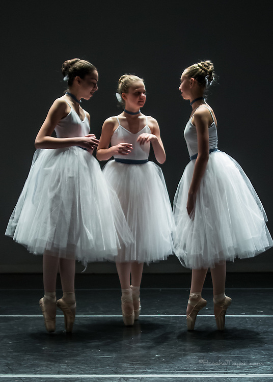 Space & Tech Rehearsal of the Spring Gala production of Cary Ballet Company. Cary Arts Center, Wednesday 9 March 2016