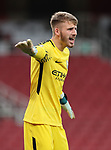 Manchester City's Daniel Grimshaw in action during the premier league 2 match at the Emirates Stadium, London. Picture date 21st August 2017. Picture credit should read: David Klein/Sportimage