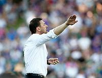 11th January 2020; HBF Park, Perth, Western Australia, Australia; A League Football, Perth Glory versus Adelaide United; Tony Popovic head coach of Perth Glory directs his players - Editorial Use