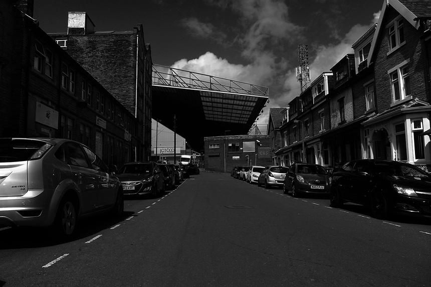 A view of Valley Parade and its surroundings area<br /> <br /> Photographer Ashley Crowden/CameraSport<br /> <br /> The EFL Sky Bet League One - Bradford City v Blackburn Rovers - Saturday 19th August 2017 - Valley Parade - Bradford<br /> <br /> World Copyright &copy; 2017 CameraSport. All rights reserved. 43 Linden Ave. Countesthorpe. Leicester. England. LE8 5PG - Tel: +44 (0) 116 277 4147 - admin@camerasport.com - www.camerasport.com