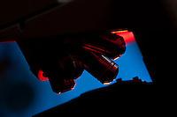 Belo Horizonte_MG, Brasil...Laboratorio de Quimica da UFMG. Na foto detalhe do microscopio...Chemistry Laboratory of UFMG. In this photo a microscope detail...FOTO: LEO DRUMOND /  NITRO.