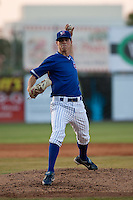 April 23 2010: Brooks Raley (30) of the Daytona Beach Cubs during a game vs. the Tampa Yankees at Jackie Robinson Ballpark in Daytona Beach, Florida. Daytona, the Florida State League High-A affiliate of the Chicago Cubs, lost the game against Tampa, affiliate of the New York Yankees, by the score of 11-3.  Photo By Scott Jontes/Four Seam Images