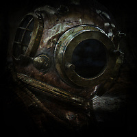 DIVERS HELMET - Delivered as 1535 x 1535 pixels at 300dpi