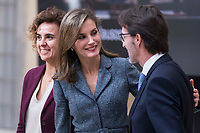 Queen Letizia of Spain attends to 'Reina Letizia' Disability 2016-2017 awards at El Pardo Palace in Madrid, Spain. November 21, 2017. (ALTERPHOTOS/Borja B.Hojas)