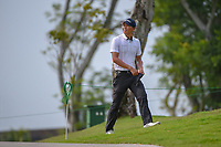 Jin-Bo HA (KOR) looks down 6 as he approaches the tee during Rd 3 of the Asia-Pacific Amateur Championship, Sentosa Golf Club, Singapore. 10/6/2018.<br /> Picture: Golffile | Ken Murray<br /> <br /> <br /> All photo usage must carry mandatory copyright credit (© Golffile | Ken Murray)