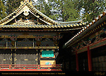 Kaguraden Dance Stage Tozai Kairo Roofed Colonnade Nikko Toshogu Shrine Nikko Japan