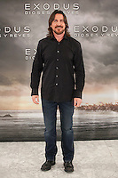 Christian Bale poses during the World Premiere of 'Exodus: Gods and Kings' in Madrid, Spain. december 04, 2014. (ALTERPHOTOS/Victor Blanco)