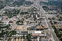 1996 May ..Redevelopment.Old Dominion (R-28)..Aerial View.Looking South.ODU on right.Hampton Boulevard up right side.42nd Street at bottom ...NEG#.NRHA#..REDEV:ODU II 1 5:8