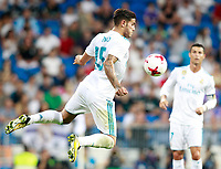 Real Madrid's Theo Hernandez during Santiago Bernabeu Trophy. August 23,2017. (ALTERPHOTOS/Acero) /NortePhoto.com