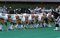 Edmonton Eskimos 1985. Photo Scott Grant