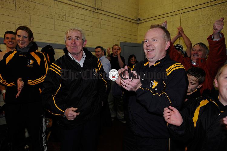 Club Chairman Mike Hogan and Jim Gully