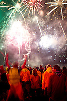 Fireworks after the closing ceremony. Photo: Mikko Roininen / Scouterna