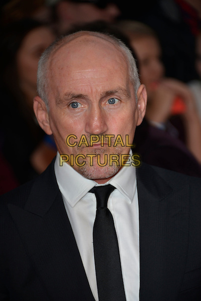 Barry McGuigan<br /> The Daily Mirror's Pride of Britain Awards arrivals at the Grosvenor House Hotel, London, England.<br /> 7th October 2013<br /> headshot portrait black white shirt tie suit goatee facial hair <br /> CAP/PL<br /> &copy;Phil Loftus/Capital Pictures