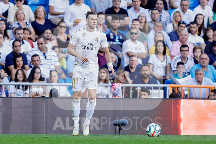 Gareth Bale of Real Madrid during La Liga match between Real Madrid and Granada CF at Santiago Bernabeu Stadium in Madrid, Spain. October 05, 2019. (ALTERPHOTOS/A. Perez Meca)