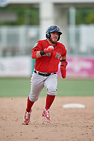 Boston Red Sox second baseman Esteban Quiroz (79) runs the bases a Florida Instructional League game against the Baltimore Orioles on September 21, 2018 at JetBlue Park in Fort Myers, Florida.  (Mike Janes/Four Seam Images)