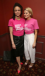 Amber Gray and Celia Keenan-Bolger attends The 69th Annual Outer Cirtics Circle Awards Dinner at Sardi's on 5/23/2019 in New York City.