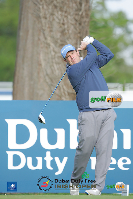 Anthony Wall (ENG) during Wednesday's Pro-Am ahead of the 2016 Dubai Duty Free Irish Open Hosted by The Rory Foundation which is played at the K Club Golf Resort, Straffan, Co. Kildare, Ireland. 18/05/2016. Picture Golffile | TJ Caffrey.<br /> <br /> All photo usage must display a mandatory copyright credit as: &copy; Golffile | TJ Caffrey.
