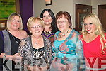 5573-5576.---------.Birthday.--------.Bernie Roche(2nd from Lt)celebrated her birthday last Saturday night in Val's bar/restaurant Bridge St Tralee,with her were L-R Anne McGinley,Bernie Roche,Patricia&Anne Douglas and Catriona Roche.
