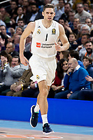 Fabien Causeur of Real Madrid during Turkish Airlines Euroleague match between Real Madrid and FC Barcelona Lassa at Wizink Center in Madrid, Spain. December 13, 2018. (ALTERPHOTOS/Borja B.Hojas) /NortePhoto.com