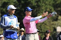 Kevin Streelman (USA) on the 6th tee during Sunday's Final Round of the 2018 AT&amp;T Pebble Beach Pro-Am, held on Pebble Beach Golf Course, Monterey,  California, USA. 11th February 2018.<br /> Picture: Eoin Clarke | Golffile<br /> <br /> <br /> All photos usage must carry mandatory copyright credit (&copy; Golffile | Eoin Clarke)