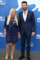 Lady Monika Bacardi &amp; Andrea Iervolino attends a photocall for 'The Bleeder' during the 73rd Venice Film Festival at Palazzo del Casino on September 2, 2016 in Venice, Italy.<br /> CAP/GOL<br /> &copy;GOL/Capital Pictures /MediaPunch ***NORTH AND SOUTH AMERICAS ONLY***