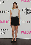 LOS ANGELES, CA- MAY 05: Actress Nathalie Love arrives at Tribeca Film's 'Palo Alto' - Los Angeles Premiere at the Director's Guild of America on May 5, 2014 in Los Angeles, California.