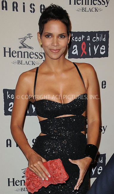 WWW.ACEPIXS.COM . . . . . ....October 15 2009, New York City....Halle Berry arriving at th  'Keep A Child Alive's 6th Annual Black Ball'  hosted by Alicia Keys and Padma Lakshmi at Hammerstein Ballroom on October 15, 2009 in New York City.....Please byline: KRISTIN CALLAHAN - ACEPIXS.COM.. . . . . . ..Ace Pictures, Inc:  ..tel: (212) 243 8787 or (646) 769 0430..e-mail: info@acepixs.com..web: http://www.acepixs.com