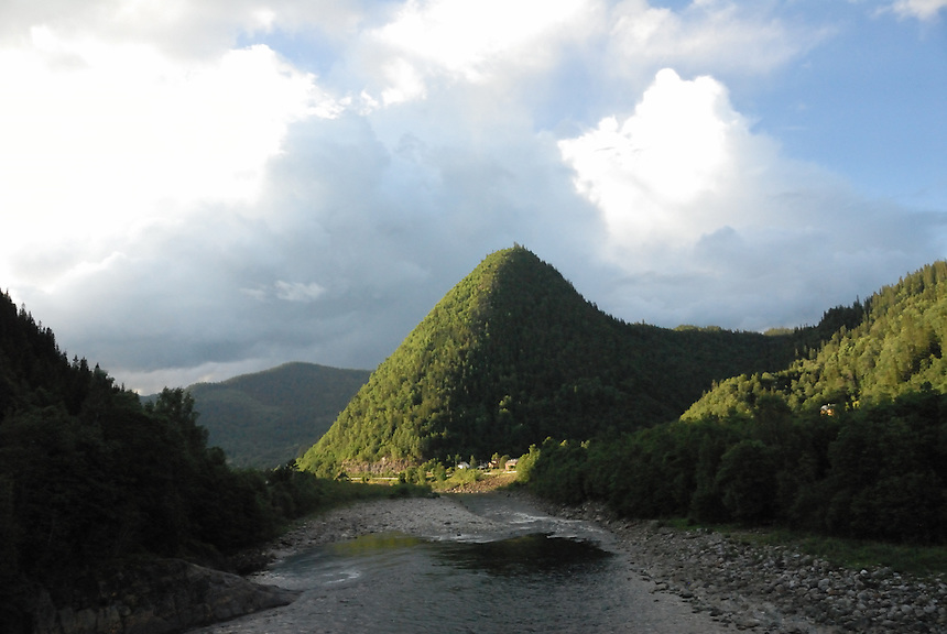 Gaula river,Rognes,Norway Landscape, landskap,