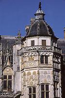 Europe/France/Centre/18/Cher/Meillant : La tour du Lion du château de Meillant [Non destiné à un usage publicitaire - Not intended for an advertising use]
