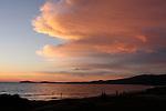 Sunset at Half Moon Bay State Beach