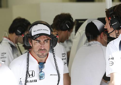 02.04.2016. Sakhir, Bahrain. F1 Grand Prix of Bahrain, qualification Saturday.  14 Fernando Alonso (ESP, McLaren Honda Formula 1 Team)