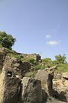 Golan Heights, ruins of the Hasmonean quarter of Gamla