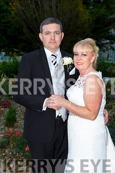 Amanda Keane and Andrew Kelly were married at Church of St Stephen and St John, Castleisland on Saturday 28th October 2017 by Fr. Sean Hanifin with a reception at the Earl of Desmond Hotel