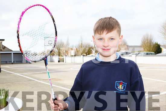 Ayrton Burke, Castleisland who won the Munster doubles championship on Sunday