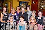 GLITZ AND GLAM: Dr Crokes Golden Girls having fun at their Christmas party in Corkery's bar, Killarney on Friday night were front l-r: Kathleen Connolly, Eleanor Joyce, Ita Looney. Back l-r: Breda Neeson, Nellie Boggins, Siobha?n Courtney, Bridget O'Connor-Clarke, Mary McCarthy, Eleanor Coffey and Mella O'Connell.   Copyright Kerry's Eye 2008