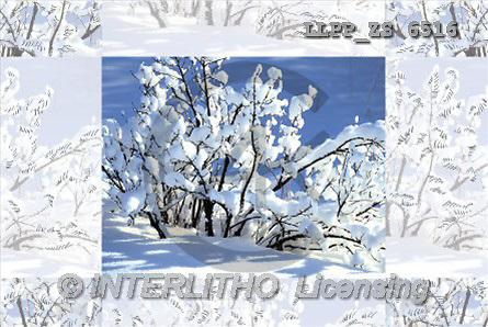 Maira, CHRISTMAS LANDSCAPE, photos(LLPPZS6516,#XL#) Landschaften, Weihnachten, paisajes, Navidad