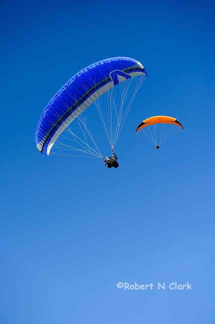Parasailing at the Torrey Pines Glider Port