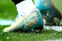 1st March 2020; Tottenham Hotspur Stadium, London, England; English Premier League Football, Tottenham Hotspur versus Wolverhampton Wanderers; A detail view of the boots worn by Adama Traore of Wolverhampton Wanderers