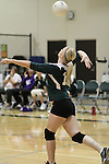 Photograph from the 2010 Mt. Rainier Lutheran High School girl's volleyball season.