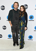 05 February 2019 - Pasadena, California - Dax Shepard, Lake Bell. Disney ABC Television TCA Winter Press Tour 2019 held at The Langham Huntington Hotel. <br /> CAP/ADM/BT<br /> &copy;BT/ADM/Capital Pictures