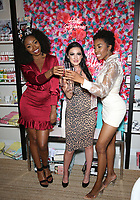 08 February 2020 - Las Vegas, NV - Candace Rice, Heather Marianna, Carrie Bernans. Candace Rice Debuts New Skincare Line in Las Vegas at Beauty Kitchen. Photo Credit: MJT/AdMedia